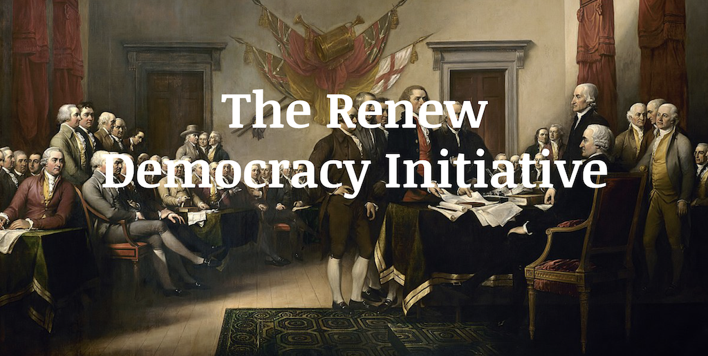 renew democracy