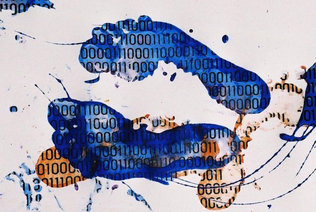 impronta digitale digital footprint