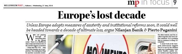 millenium post - europe's lost decade