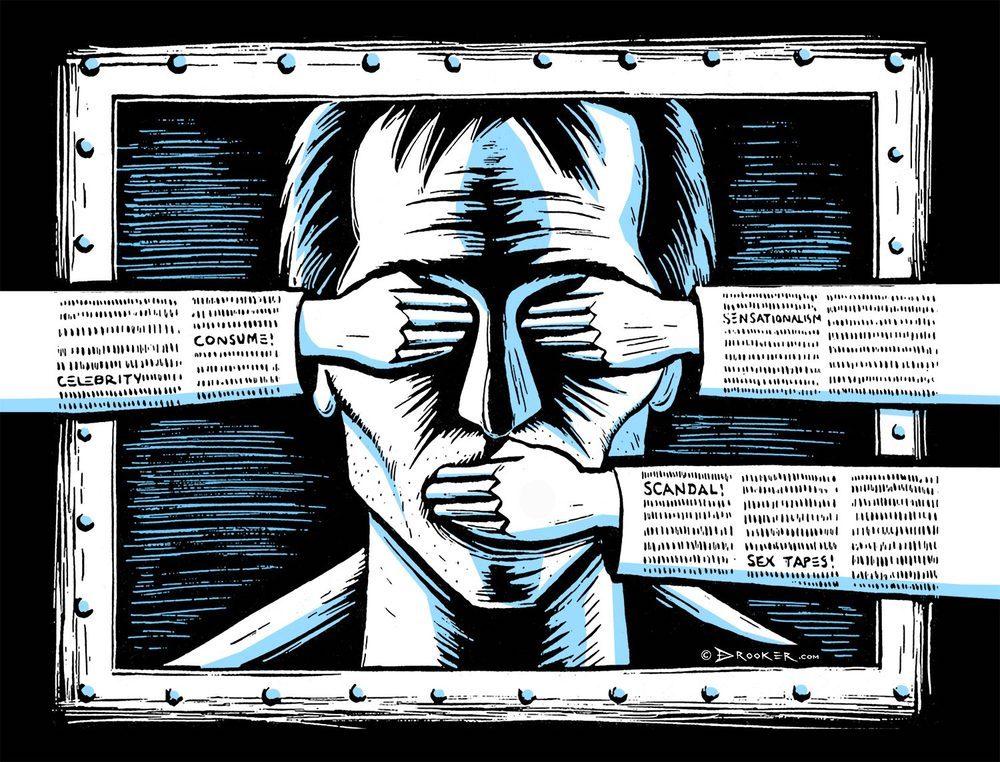 sulla censura stai zitto pnr 122 censorship paganini eric drooker