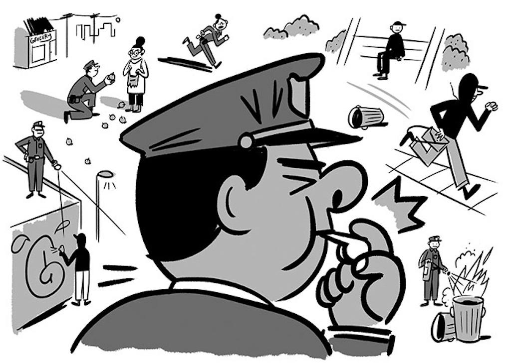 Non Avere Paura: Riformare Carabinieri e Forze Ordine paganini