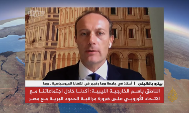 Libia cosa sta succedendo - intervista Al Jazeera