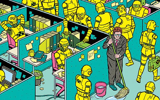Lavoro i Nuovi Badanti Robot e Automazione pietro paganini