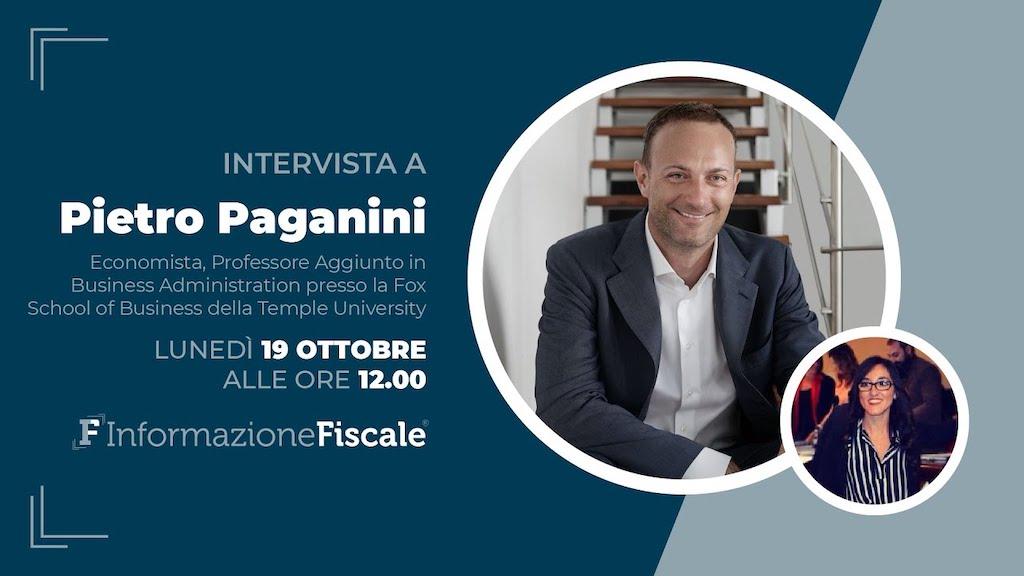 Irpef e Costo del Lavoro Pietro Paganini intervistato da Informazione Fiscale paganini non ripete