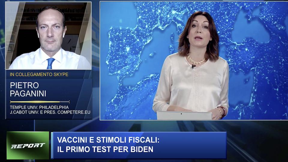 Il Vaccino USA Pietro Paganini a Class CNBC con Iole Saggese paganini non ripete