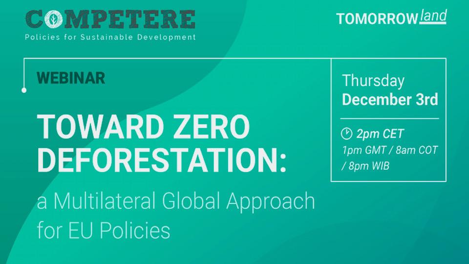 Toward Zero Deforestation pietro paganini non ripete competere.eu