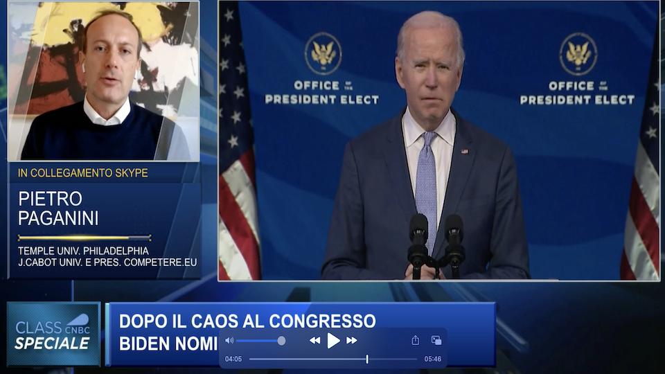 America: Cosa Succede - Class CNBC - Pietro Paganini