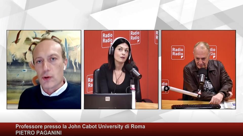 PNRR Rischi e Opportunità - Radio Radio - Pietro Paganini draghi recovery plan paganini non ripete
