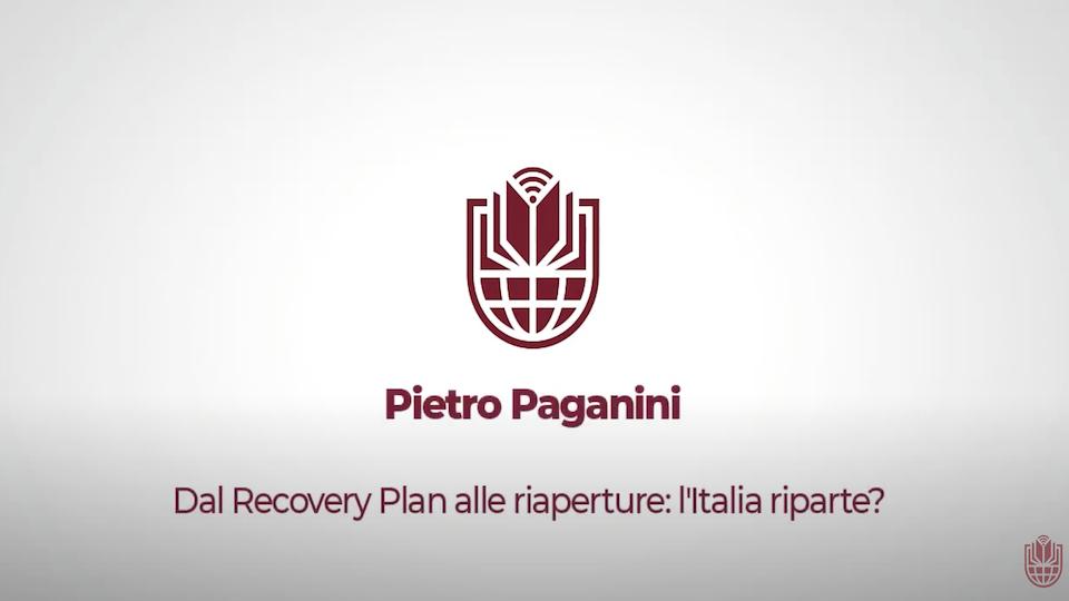 L'Italia Riparte? pietro paganini roberto sciarrone università la sapienza paganini non ripete