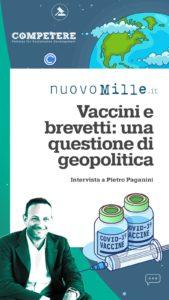 La Geopolitica dei Vaccini - Nuovo Mille PIETRO PAGANINI brevetti paganini non ripete grande