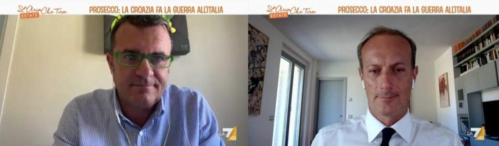 Il Nutriscore contro l'Italia - L'Aria che Tira La7 - Pietro Paganini 2